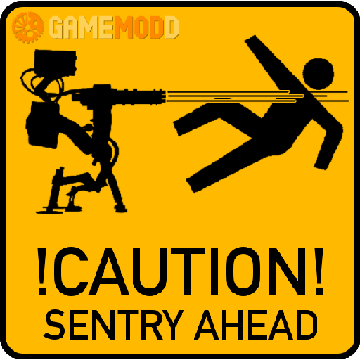 Sentry casualties prevention decal