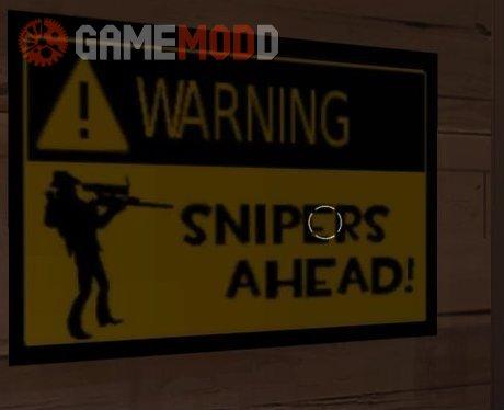 Sniper Warning!