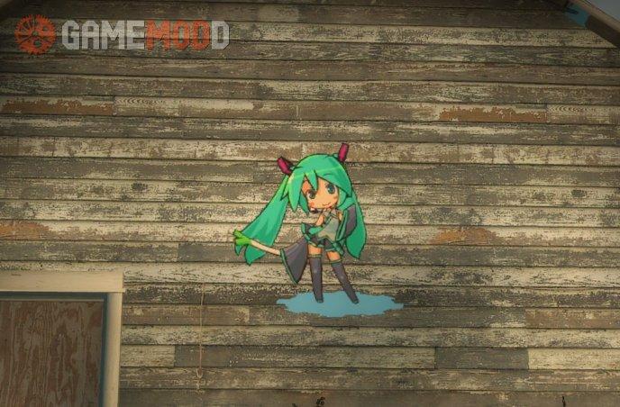 Another Miku Hatsune Spray