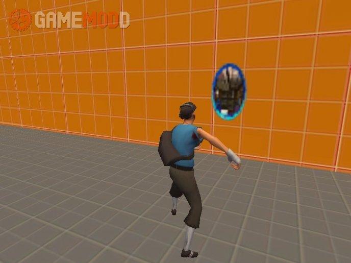 Animated Portal Spray