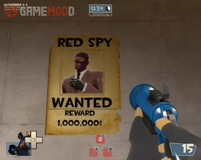 Red spy wanted