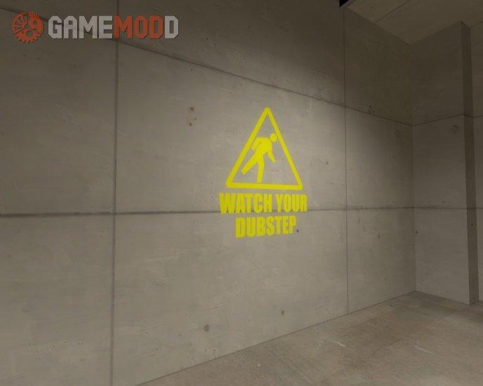 Watch Your Dubstep - 3 HD Sprays!