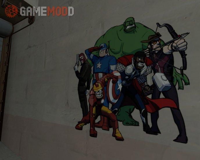 Team Avengers - HD!