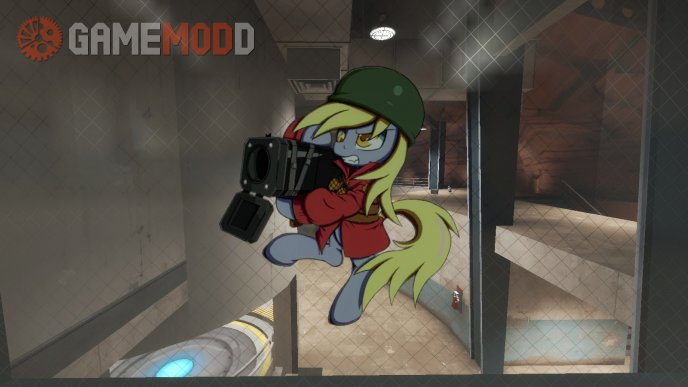 Derpy the Soldier