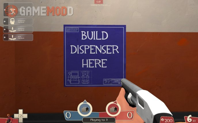Build Dispenser Here Blueprint