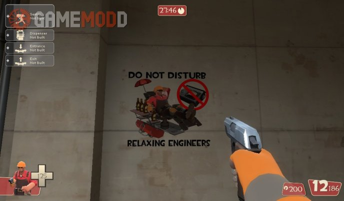 Relaxing Engineer Sign