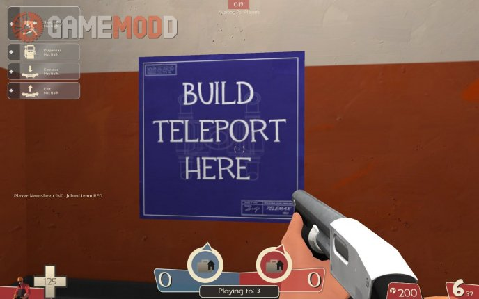 Build Teleport Here Blueprint