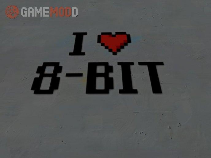 I heart 8bit